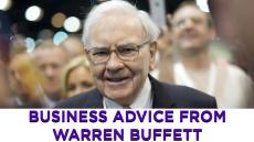 Warren Buffett shares his keys to success