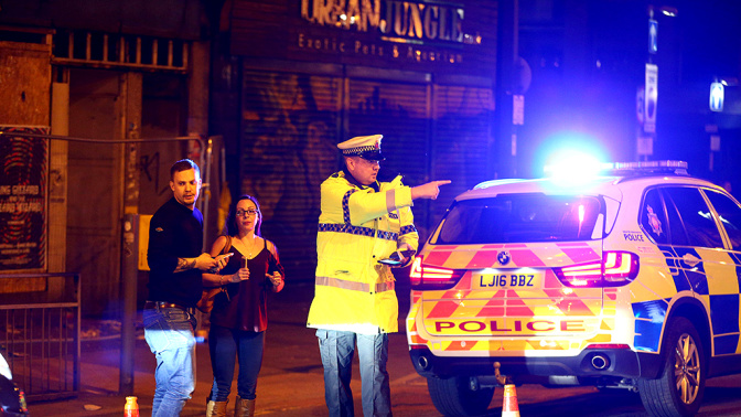 Live updates: At least 22 dead after blast at Ariana Grande concert in Manchester