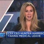 CSX CEO Hunter Harrison taking medical leave