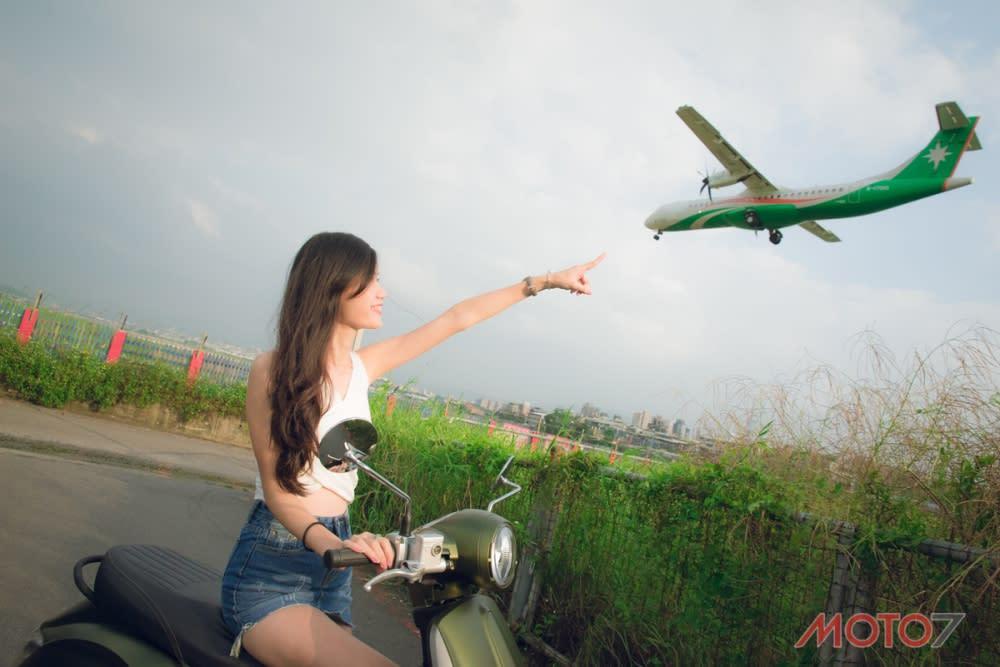 普遍來說女生不會對飛機有太大興趣,不過現場觀看還是震撼十足。