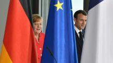 Macron y Merkel exponen sus diferencias sobre la zona euro