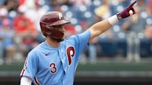 Nationals vs. Phillies Betting Odds: Bryce Harper, Phils offense stay hot