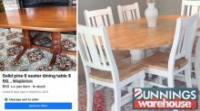 $15 Bunnings buy transforms dining table: 'Like brand new'