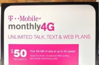 T-Mobile Monthly4G plans may get an unlimited data tier on January 9th