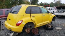 Junkyard Gem: 2006 Chrysler PT Cruiser Route 66 Edition