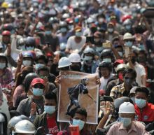 Hundreds mourn Myanmar's 'Everything will be OK' protester