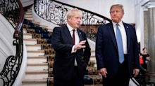 Exclusive: Leaked meeting notes show Boris Johnson said Trump was 'making America great again'