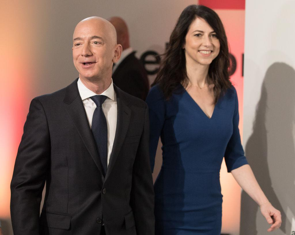Amazon founder will pay ex-wife $55 billion worth of stock in days