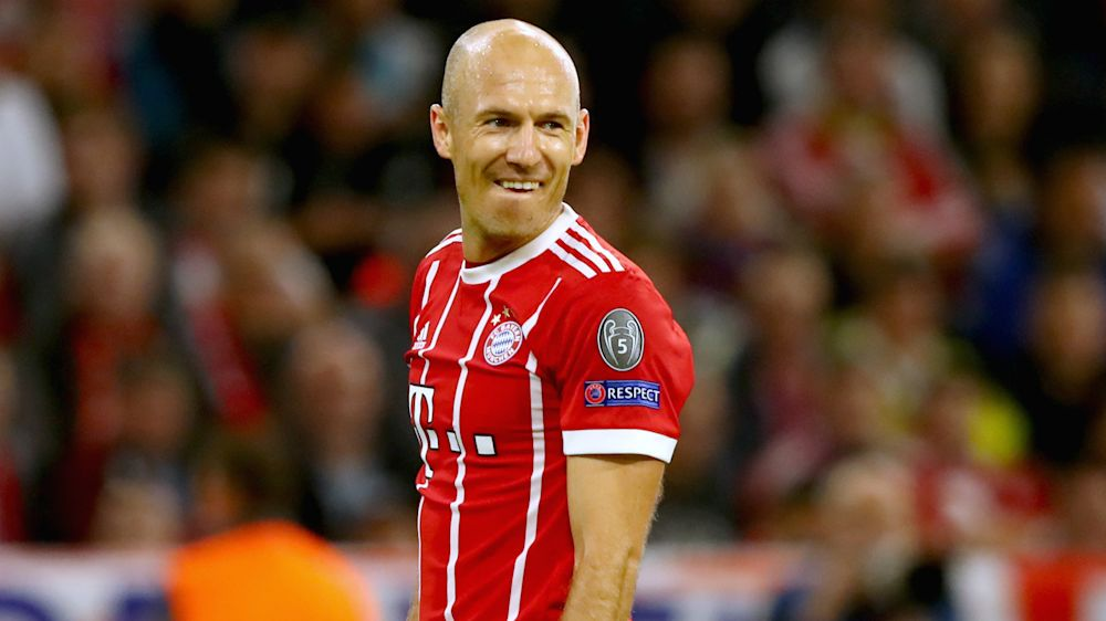 Robben yet to hold talks over new Bayern Munich contract