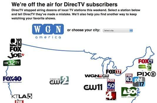 Tribune stations nationwide including WGN America go dark on DirecTV