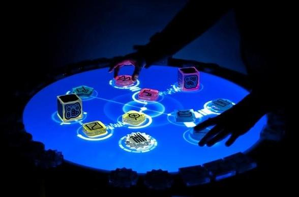 Reactable multitouch table / musical instrument goes into production