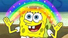 ¿Es Bob Esponja gay? Nickelodeon abre el debate tras mostrar al personaje con la bandera arcoiris