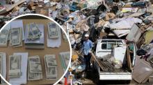 Encuentra 10 sobres llenos con 100.000 dólares en la basura... y no se los quedará