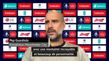 """Demi-finale - Guardiola : """"Un respect incroyable pour David Luiz"""""""