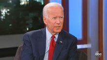 Biden responds to Trump impeachment inquiry and Giuliani's allegations