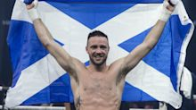 Josh Taylor defends belts in style with first-round knockout of Apinun Khongsong