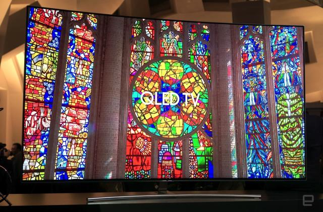 Samsung's QLED 4K TVs look better, thanks to metal quantum dots