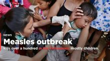 PHOTOS: Deadly measles outbreak in the Philippines