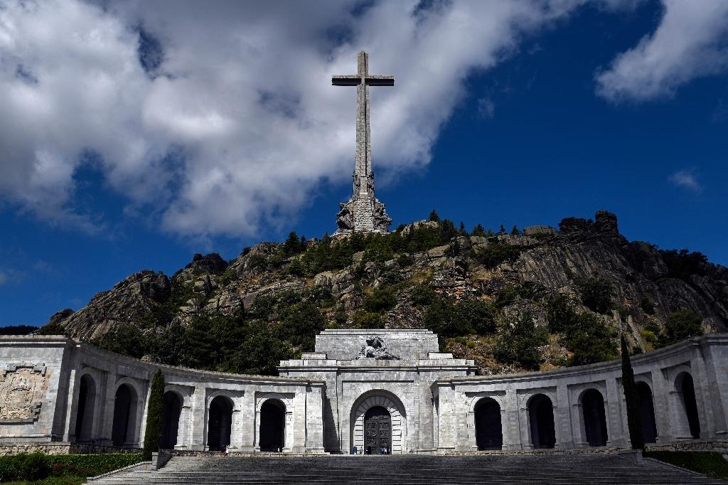 Franco's tomb currently lies in a huge hillside mausoleum belonging to the Catholic Church in the Valley of the Fallen, west of Madrid