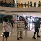 Hong Kong Protesters Carrying Signs Seeking 'Help' From US Troops
