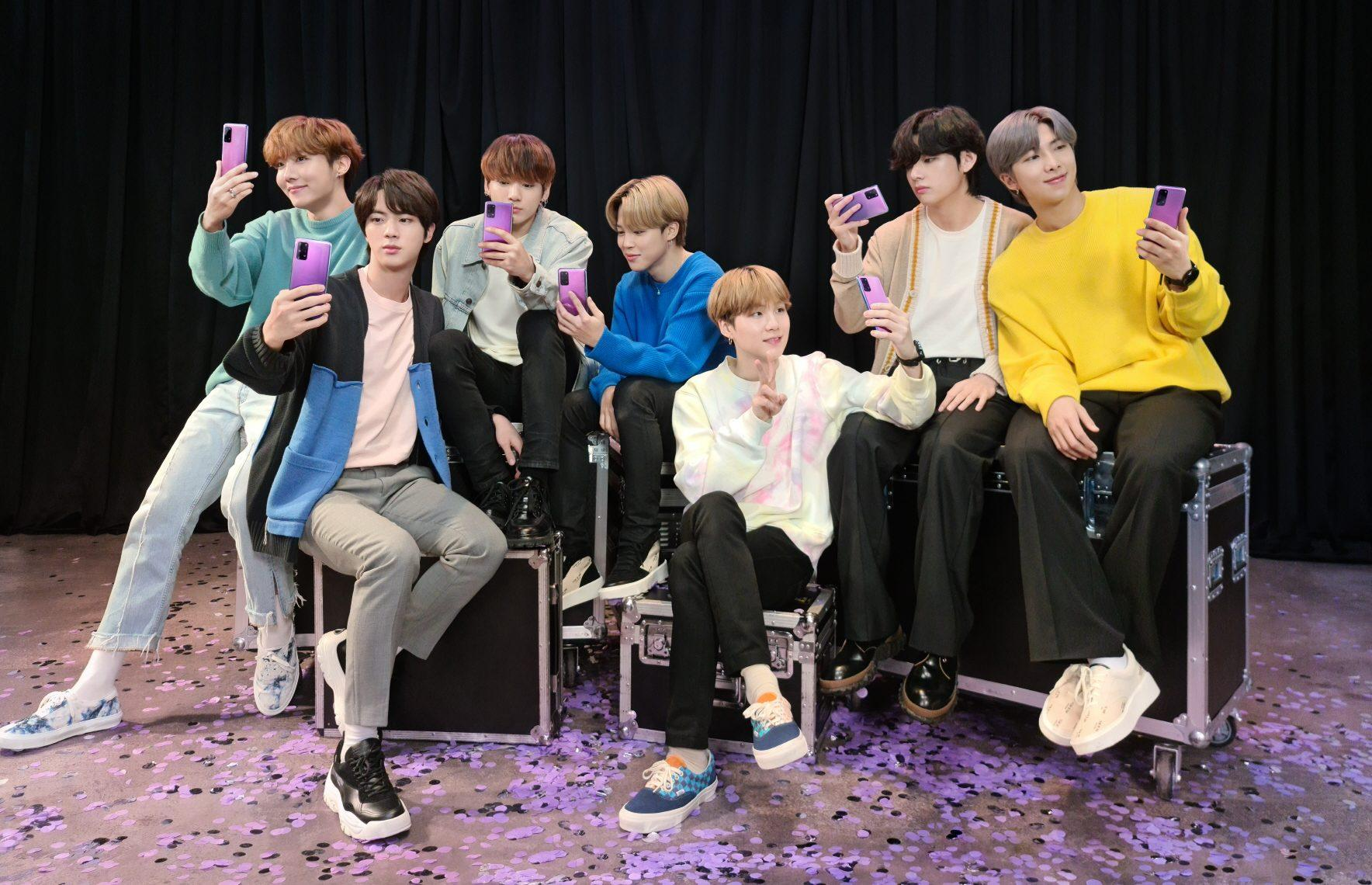 Samsung S Bts Edition Phone And Earbuds Collaboration Out Now