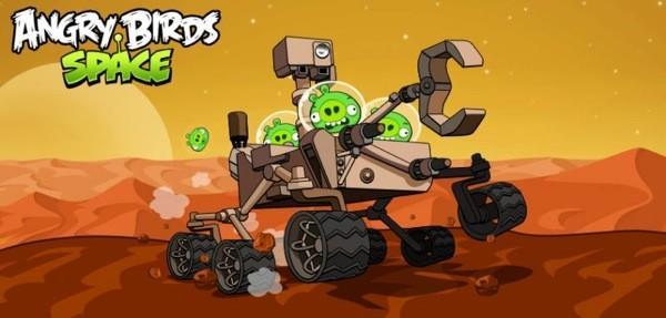 Rovio takes Angry Birds Space for a spin with NASA's Curiosity Mars Rover, teases Red Planet for fall (video)