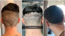 Girlfriends are turning into barbers during isolation and the results are hilarious