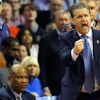 VIDEO: Kentucky's John Calipari participates in the #DriveByDunkChallenge