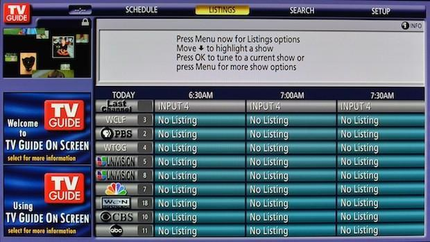 Rovi is shutting down its OTA TV guide service without notice
