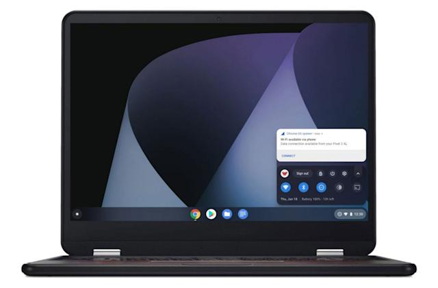 Chromebook to Android instant tethering expands beyond Google devices