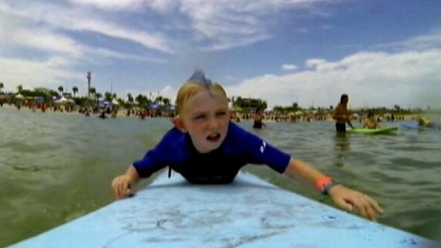 Hanging Ten With Autism