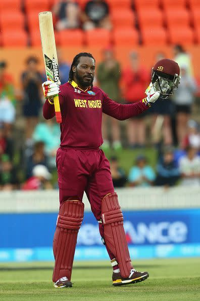 Gayle has scored 3994 runs in IPL