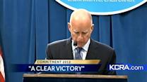Gov. Brown: Prop 30 passing a 'clear victory'