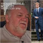 Thomas Markle says he had no idea who Prince Harry was when Meghan first told him they were dating