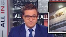 Chris Hayes Bashes NBC Bosses, Backs Ronan Farrow's 'Cultural Reckoning'
