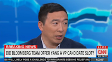 Andrew Yang says 'multiple campaigns' have reached out to him as possible VP