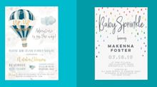 22 Baby Shower Invitations to Celebrate a Special New Arrival