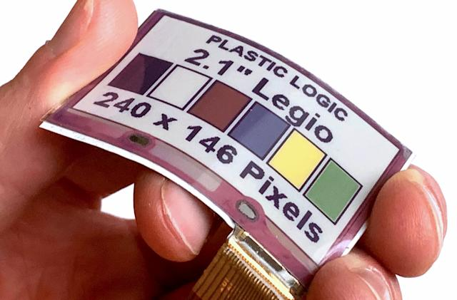 Flexible color ePaper displays could soon adorn your clothes