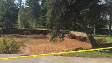 Nova Scotia town's sinkhole 'still considered unsafe,' officials say