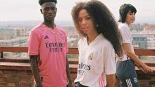 Foot - ESP - Real - Le rose à l'honneur sur les nouveaux maillots du Real Madrid pour la saison 2020-2021