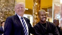 Donald Trump under fire for praising Kanye West yet staying quiet about Senator John McCain's cancer news