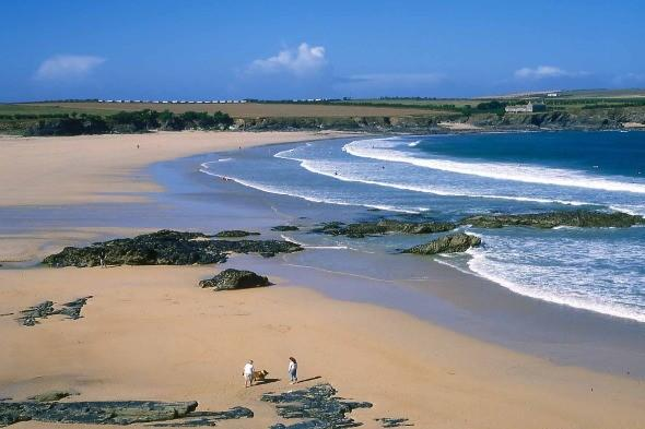 <p> Backed by lovely dunes and cliffs just a couple of miles outside Padstow, Harlyn Bay offers lots to explore and a sweeping cove popular with surfers. <strong>Don't miss:</strong> The cliffs at Trevose Head, which offer amazing views towards Pentire Head and Newquay beyond.</p>