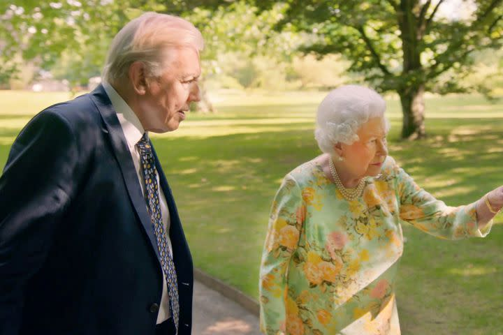 David Attenborough laughing with the Queen is more British than 75% of tea-drinkers