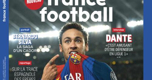Foot - France Foot - «France Football» du 11 avril : Neymar, une bonne tête de vainqueur ?
