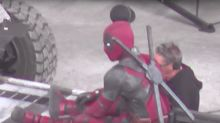 Fan captures 'Deadpool 2' scene on social media, including giant panda