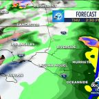 Southern California storm brings heavy rainfall Thursday
