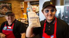 Lewis Capaldi serves up treat for fans with undercover gig at Greggs