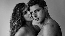 """Vetada no Instagram, Mariana Goldfarb reposta nude com Cauã: """"Bundinhas"""""""