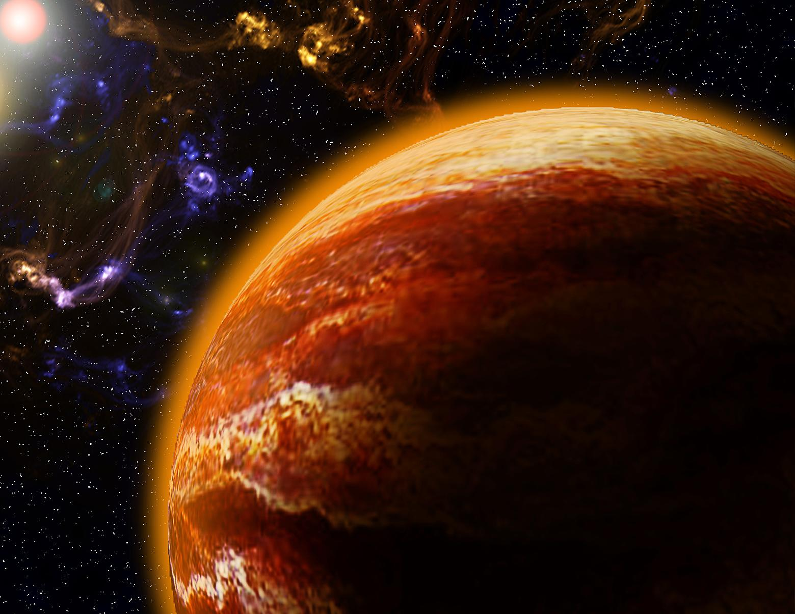 Astronomers just discovered a hot jupiter and it s for Plante 94 pourcent