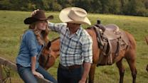 Scott Eastwood, Britt Robertson on 'The Longest Ride'
